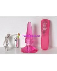 Анальный вибратор Passion Pllug розовый