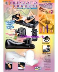 Секс-кровать(3 вибратора+пульт ДУ)