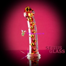 Фаллос стекло 18см