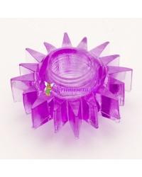 Кольцо гелевое фиолет.