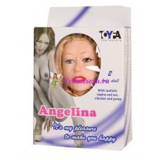 Кукла Ангелина  (вагина+вибратор+насос)