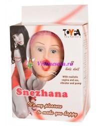Кукла Снежана  (вагина+вибратор+насос)