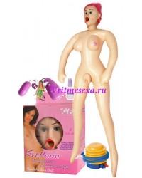 Кукла Светлана(насос+виброяйцо+смазка+ваги