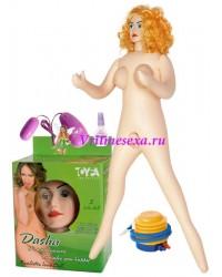 Кукла Даша(насос+виброяйцо+смазка+вагина