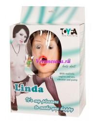 Кукла Линда  (вагина+вибратор+насос)