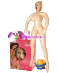 Кукла Ольга(насос+виброяйцо+смазка+вагина)