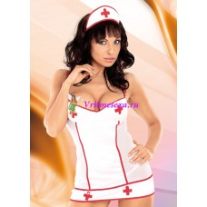 L-Костюм медсестры белый