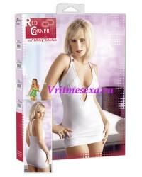 L-Платье  белое