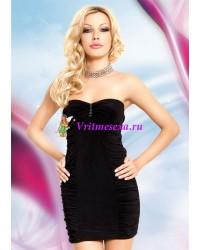M/L-Мини платье черное