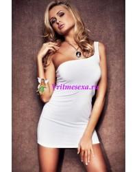 M/L-Платье бел.