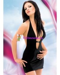 M/L-Платье черное