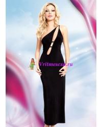 М-Платье черное