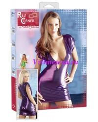 M-Платье  фиолет.