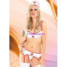 S-Костюм медсестры белый