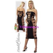 S/L-Платье  черное