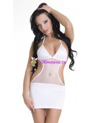 S/L-Платье и стринги белые