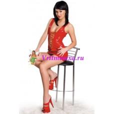 S/L Платье красный