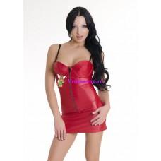 S/L-Платье красное
