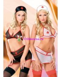 S/M-Комплект медсестры белый
