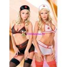 S/M-Комплект медсестры черный