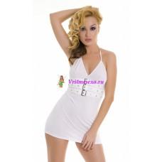 S/M/L-Платье белое/черное