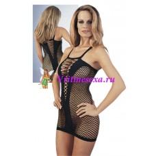 S/M-Миниплатье черное