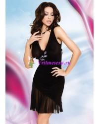 S/M-Платье черное