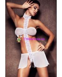 S/M-Топ и юбка бел.