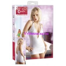 S-Платье  белое
