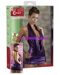 S-Платье  фиолет.