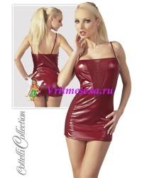 S-Платье  красное