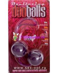 Шарики мягкие вагинальные фиолет.3,5 см
