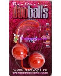 Шарики мягкие вагинальные красные 3,5 см