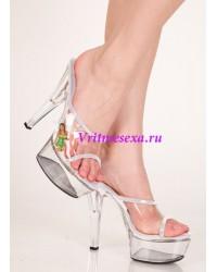 Туфли белые/красные/розовые/черные