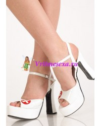 Туфли белые медсестра