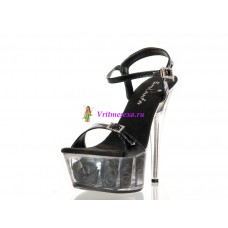 Туфли черные/белые