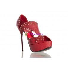 Туфли красные/черные