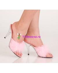Туфли красные/черные/розовые/белые