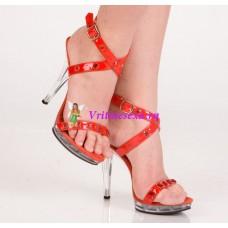 Туфли красные/синие