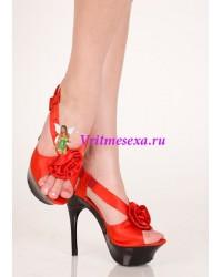 Туфли красный