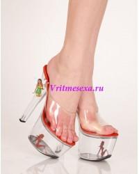 Туфли прозрачный