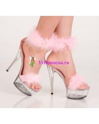 Туфли розовые