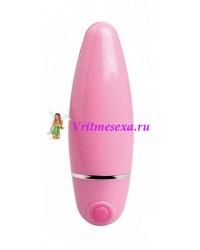 Вибратор 10 см розовый