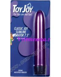 Вибратор фиолетовый Classic Joy