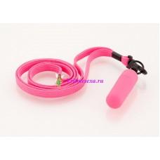 Вибратор-мини с ремешком на шею 6см розовый