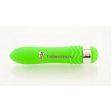 Вибратор водонепрон. 14см зеленый