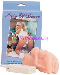 Вибровагина Леди Дезир девственница 16,5 см
