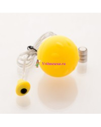 Виброяйцо 4,5см желтое