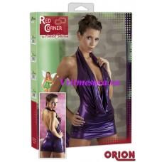 XS-Платье фиолетовое