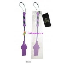 Стек черно-фиолетовый 25 см